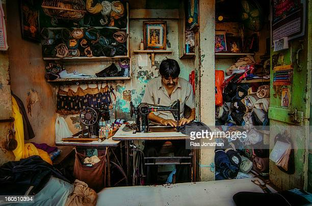 All for generations the Bombay tailors are active in small & large side off the tailor & textile industry. The British introduce the Singer to the...