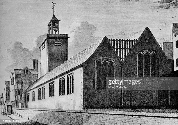 All Hallows Church London Wall City of London circa 1901 All HallowsontheWall is situated adjacent to London Wall the former city wall of London The...