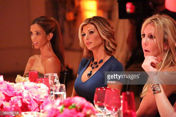 COUNTY 'All Housewives Party At Tamra's' Pictured Lydia McLaughlin Alexis Bellino Vicki Gunvalson