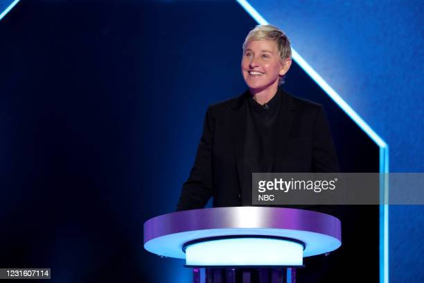 "All I Do Is Twin"" Episode 404 -- Pictured: Ellen DeGeneres --"