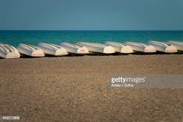 all in a row - lake ontario stock pictures, royalty-free photos & images