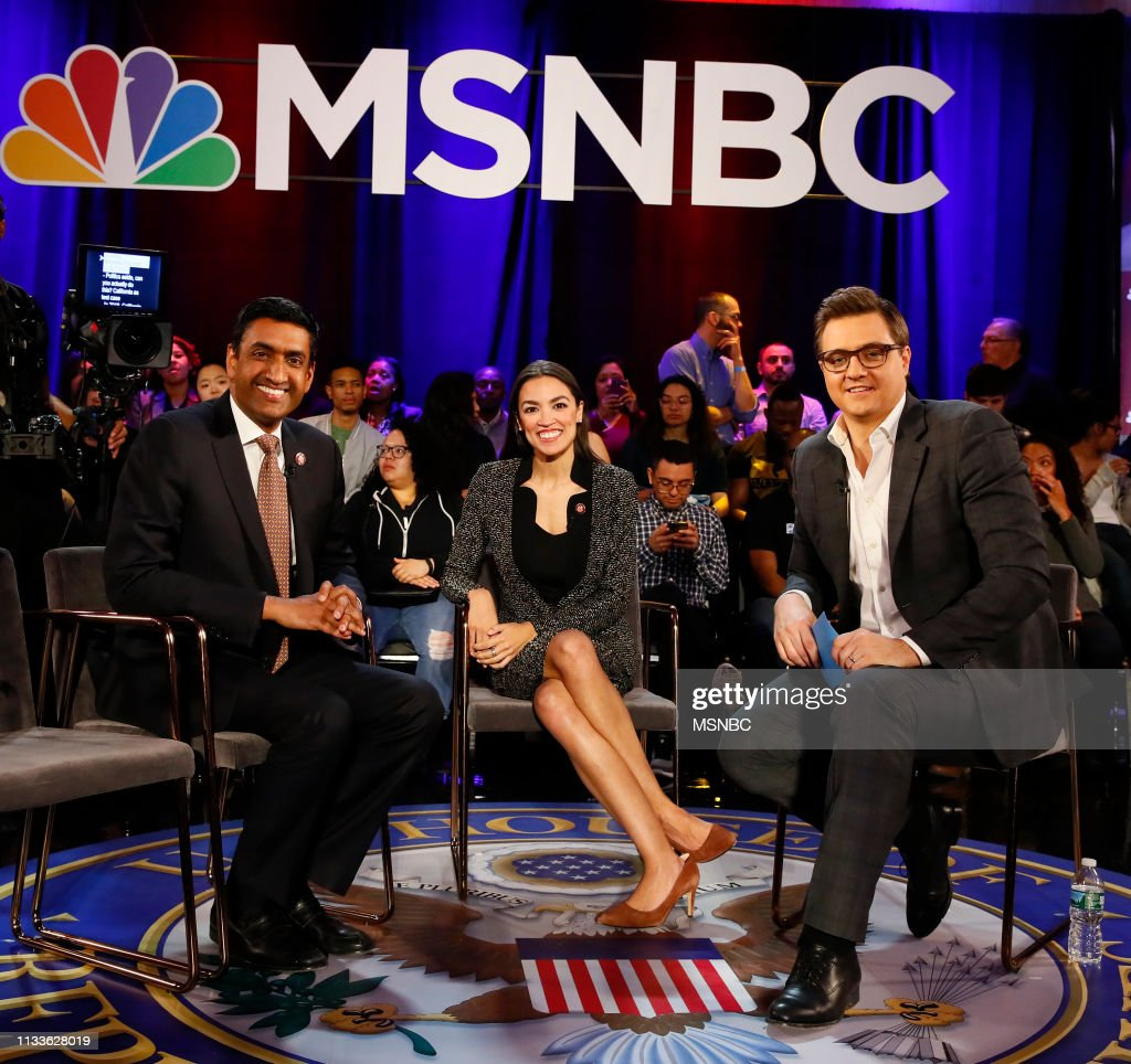 "NY: MSNBC's ""All In America: The Green New Deal"" - Event"