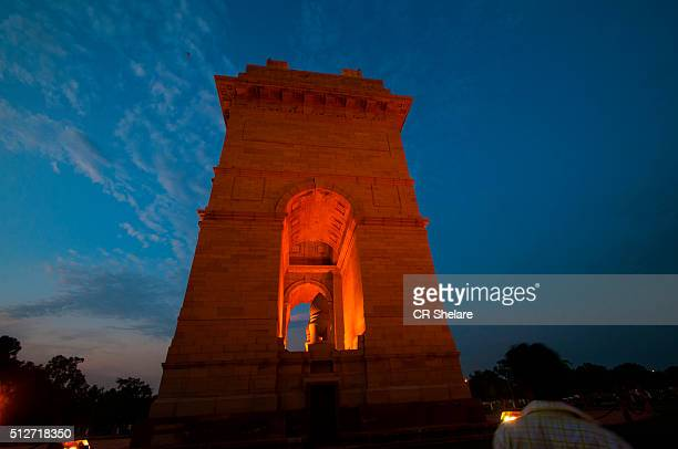 all Indian War Memorial  India gate,  New Delhi, India