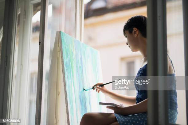 All Into Painting