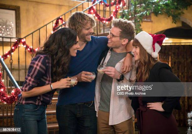 'All Is Bright' Pictured Daniela Ruah Eric Christian Olsen Barrett Foa and Renée Felice Smith The team investigates a ransomware attack that takes...