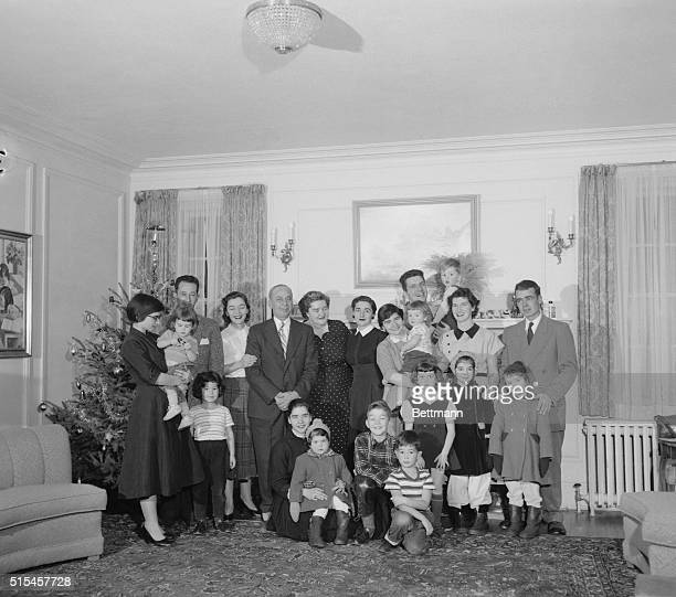 All is sweetness and light again in the Dionne home as this family reunion photo indicates Earlier this week Papa Dionne publicly scolded his...