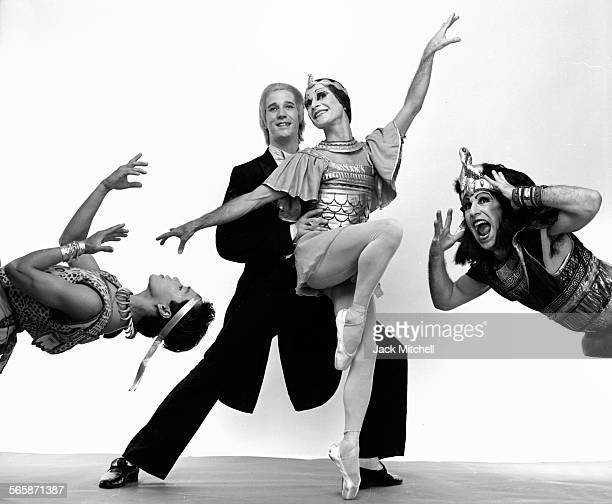 All Male Ballet troup Les Ballets Trockadero de Monte Carlo 1983 Photo by Jack Mitchell/Getty Images