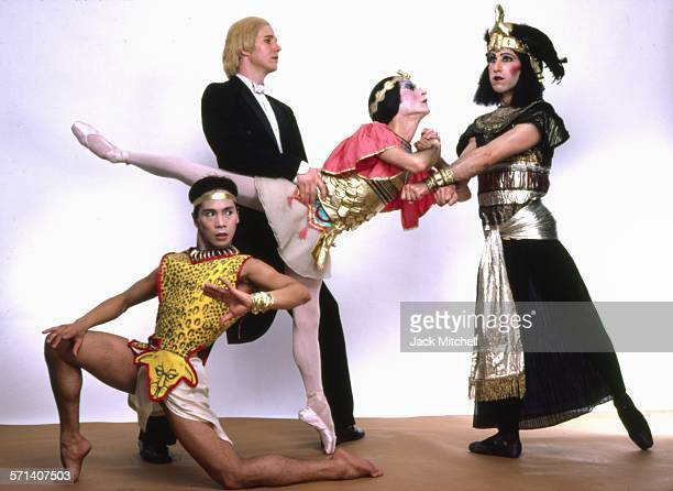All Male Ballet troup Les Ballets Trockadero de Monte Carlo 1983
