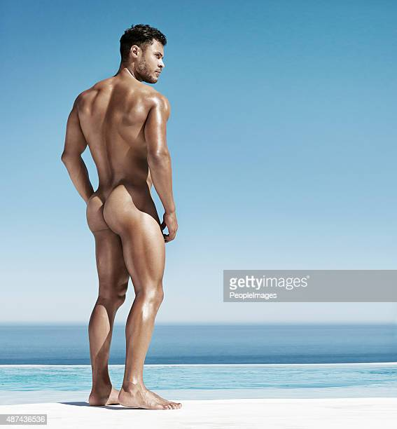 all man - naturism stock photos and pictures