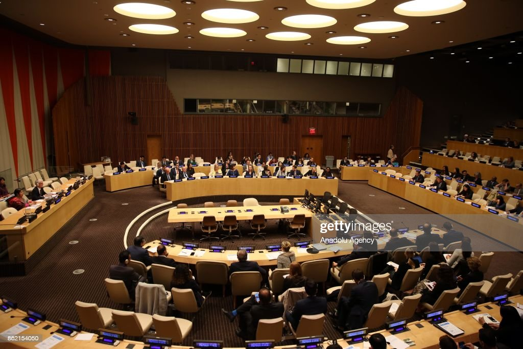 All-Member States Briefing on the Rohingya refugee crisis : News Photo