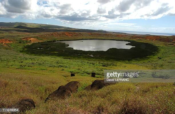 All Moais were sculpted in the crater and on the slopes of Rano Raraku volcano Rivalries between clans disappeared in the magical site where the...