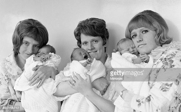 All mothers feel no doubt that they have achieved something special as they hold their newborn babies in their arms But these three young' mothers...