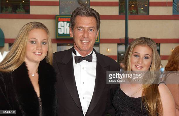 ''All My Children'' actor Jack Scalia and daughters Olivia and Jacqueline arrive on May 17 2002 for the 29th Annual Daytime Emmy Awards at Madison...