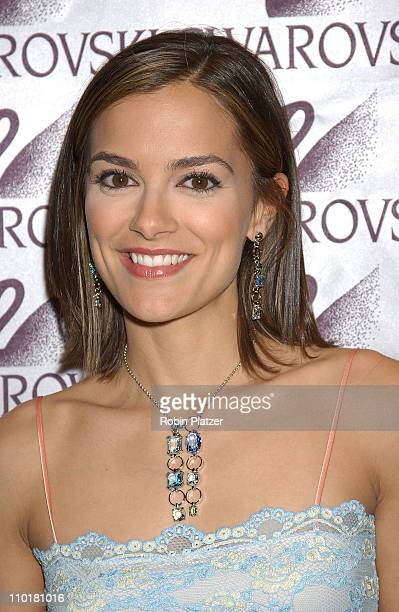 All My Children's Rebecca Budig during All My Children Stars Appear at Celebrity Heartthrobs Crystallize Denim Program Launch To Benefit The American...