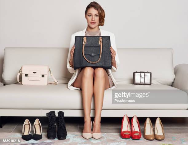 all my favourite things are around me - evening bag stock photos and pictures