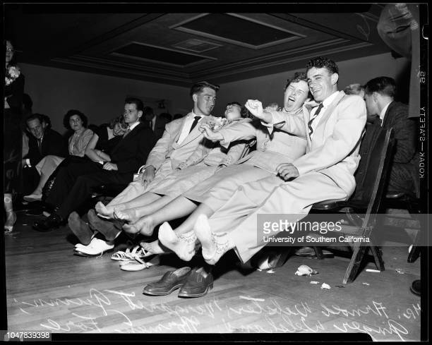 All Night Dance For Graduates 18 June 1954 Tommy Dorsey his orchestraArnold WebsterMargaret GuinnGinger WelshansNorman ForeJoy HaroldsonMarilyn...