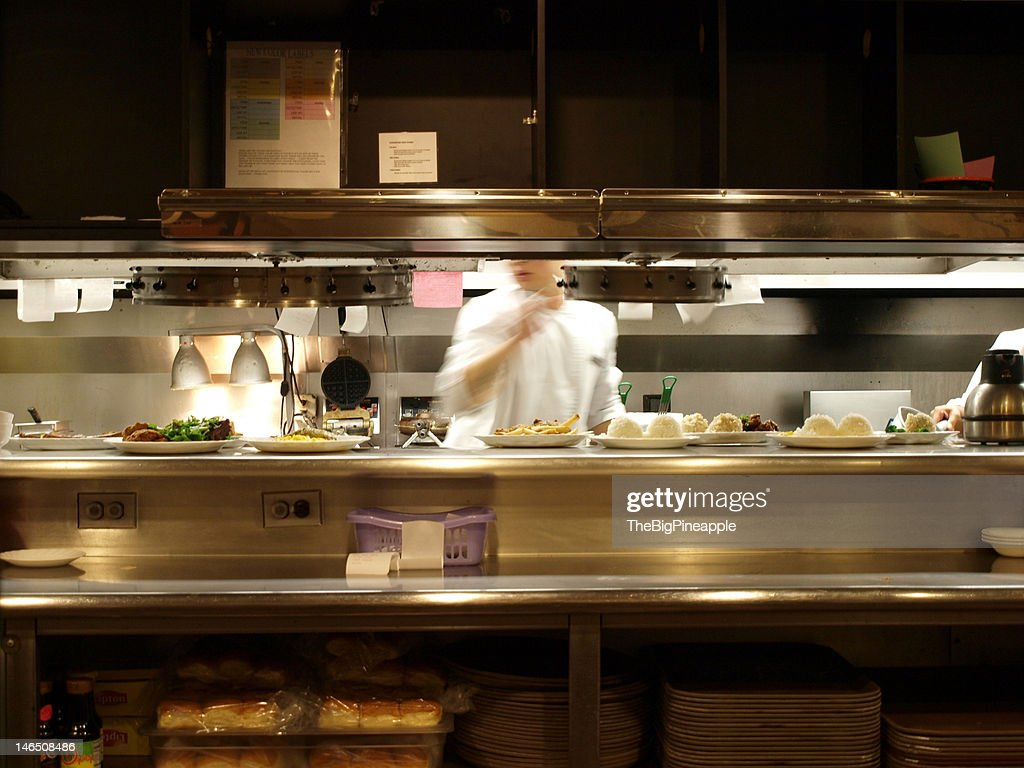 All night diner : Stock Photo