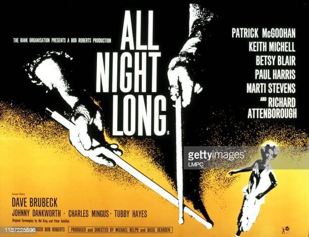 All Night Long poster Marti Stevens 1961