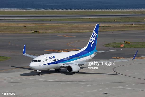 全日空ボーイング 737-700 - 中部国際空港 ストックフォトと画像