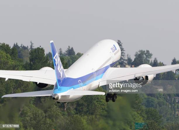 ANA All Nippon Airways Boeing 7878 Dreamliner takingoff