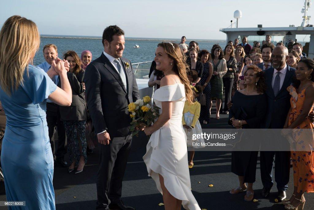 "ABC's ""Grey's Anatomy"" - Season Fourteen : News Photo"