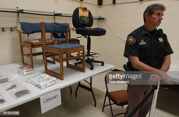 All of the evidence still held by Jefferson County from the Columbine massacre was placed on public display Thursday at the Jefferson County...