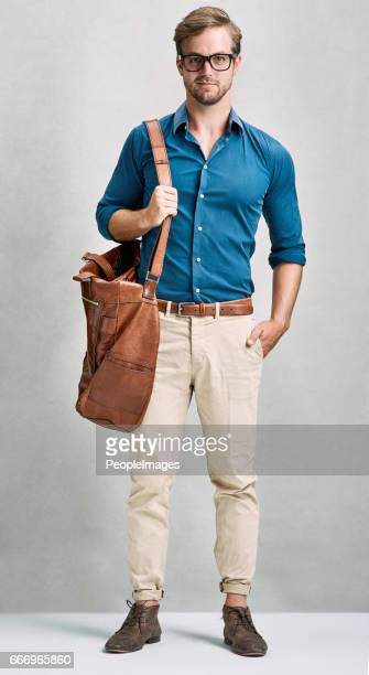 all ready for his trip - menswear stock pictures, royalty-free photos & images