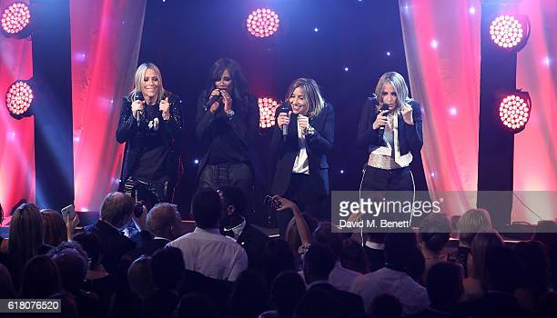 All Saints attends 'An Evening With The Stars' charity gala in aid of Save The Children at The Grosvenor House Hotel on October 25 2016 in London...