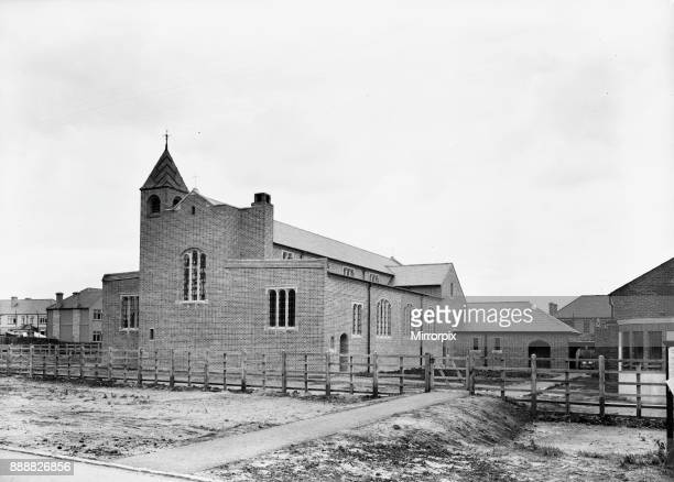 All Saints Church Long Lane Hillingdon shortly before it was consecrated by the Bishop of Kensington 1933