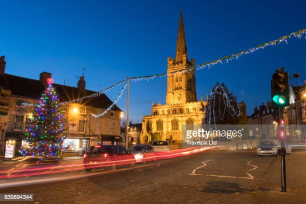 All Saints Church, Red Lion Square, Stamford, Lincolnshire