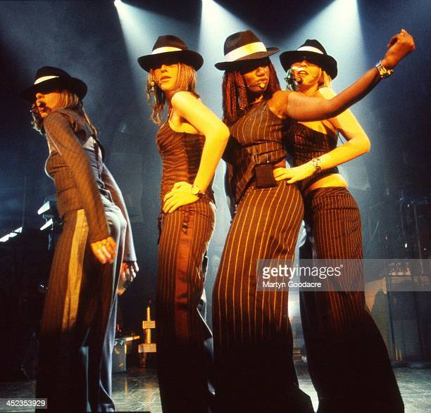 All Saints perform on stage in Ibiza Spain 2001
