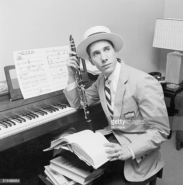All set to jazz it up during the Grace Kelly-Prince Rainier wedding festivities in Monaco, is Dixieland band leader Stan Rubin. Rubin, a 22 year old...