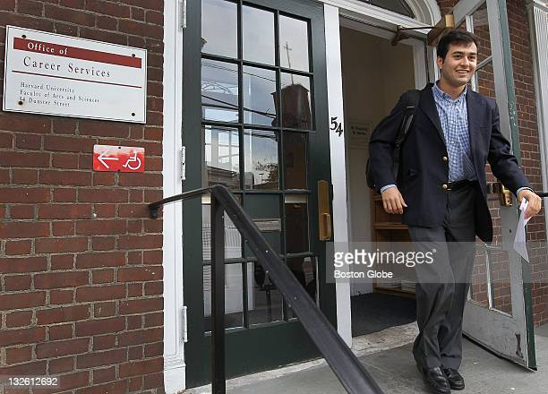 All smiles after getting his ticket Zachary Hamed is one of the Harvard students that Mark Zuckerberg of Facebook will be trying to recruit to work...