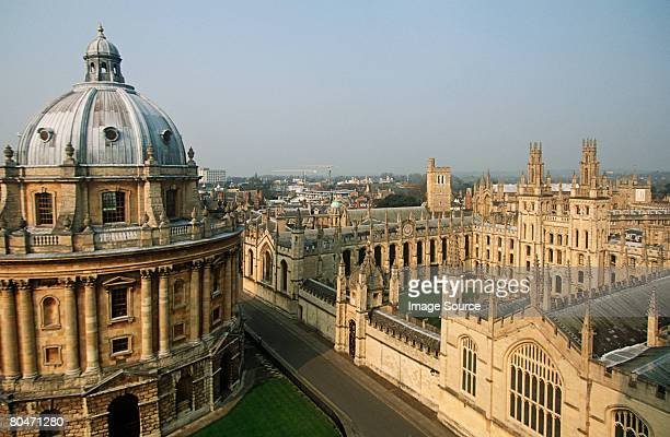 all souls college and radcliffe camera - oxford england stock pictures, royalty-free photos & images