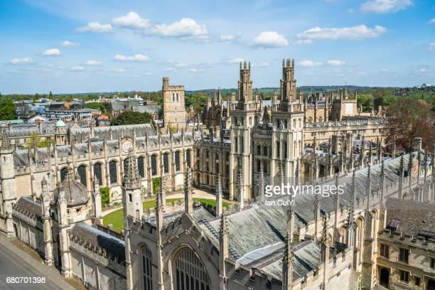 all souls college, oxford - oxford university stock pictures, royalty-free photos & images