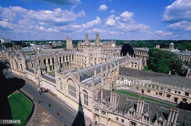 all souls college, oxford university, england - oxford university stock pictures, royalty-free photos & images