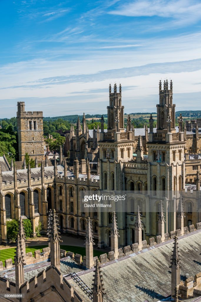 all souls college oxford university ストックフォト getty images