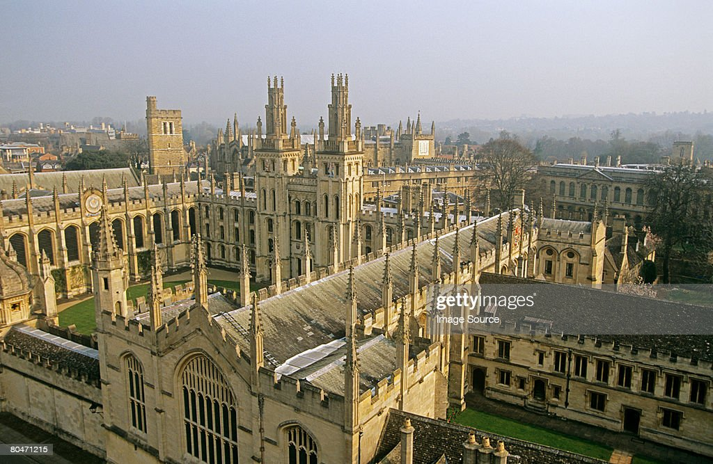 All souls college : Stock Photo