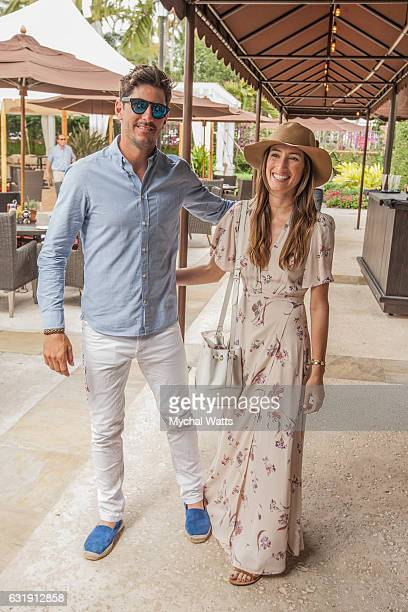 All Star International Polo Player Nic Roldan and Girlfriend Daughter of 'The Boss' Bruce Springsteen Jessica Rae Springsteen at International Polo...