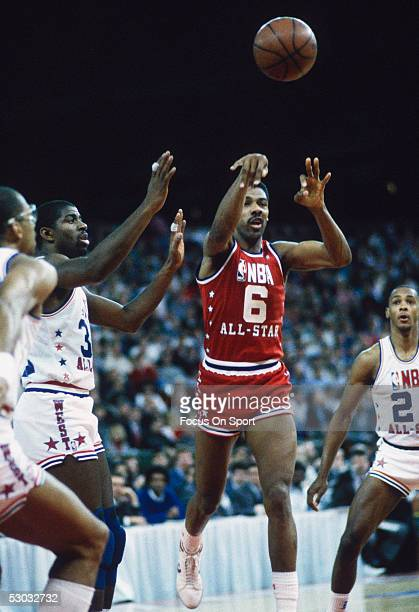 All Star Julius Erving makes a pass NOTE TO USER User expressly acknowledges and agrees that by downloading and/or using this Photograph User is...