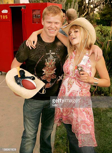 JULY 2006 'All Star Party' Pasadena Calif Pictured Jesse Plemons Aimee Teegarden