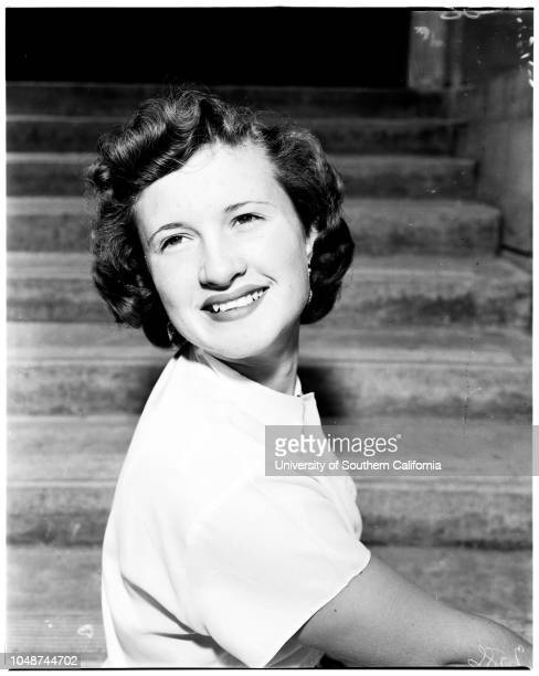 All states queen candidates 12 May 1952 Evelyn Armstrong chinoDarlene Edwards UplandCarrie Muratore OntarioWanda Wright OntarioMarion Evans Gleason...
