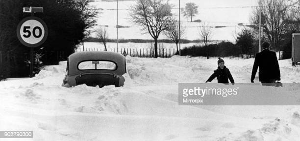 All stop on the main Cardiff Barry Road Where 50 mph speed limit need not apply Wales 20th February 1978