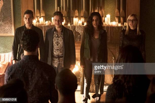THE MAGICIANS 'All That Josh' Episode 309 Pictured Jason Ralph as Quentin Coldwater Trevor Einhorn as Josh Hoberman Jade Tailor as Kady OrloffDiaz...