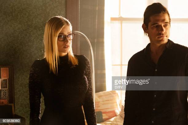 THE MAGICIANS 'All That Josh' Episode 309 Pictured Olivia Taylor Dudley as Alice Jason Ralph as Quentin Coldwater