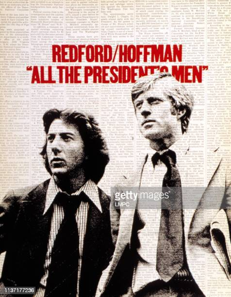 All The President's Men poster Dustin Hoffman Robert Redford 1976
