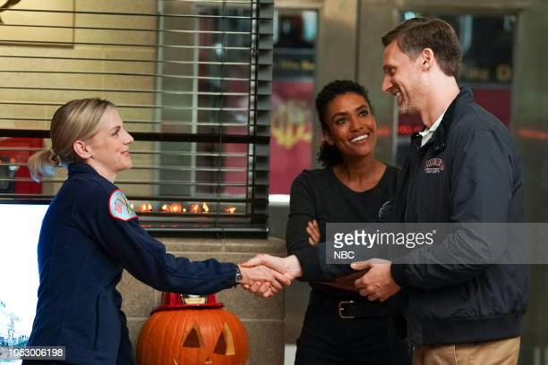 FIRE 'All the Proof' Episode 706 Pictured Kara Killmer as Sylvie Brett Annie Ilonzeh as Emily Foster Teddy Sears as Kyle Sheffield