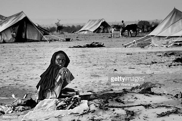 All the refugee camps set up in Chad are full of war orphans
