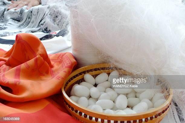 All The Secrets Of The Making Of Hermes Scarf La fabrication du foulard Hermès aux ateliers AS dans le sud de LYON où s'élabore le mélange des...