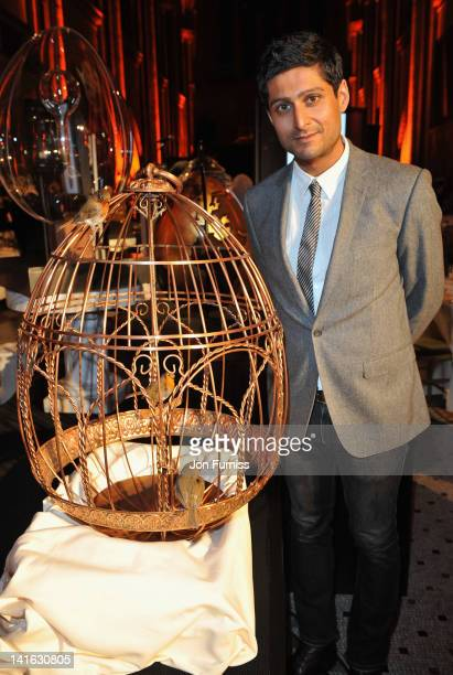 All the Stars Moon and Sun by Ajay Padda at The Faberge Big Egg Hunt Grand Auction raising money for Action for Children and Elephant Family at Royal...